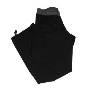 Lululemon Studio Pants Black Gray Space Dye